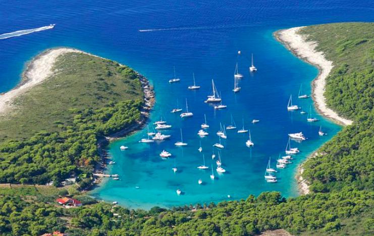 Hvar Island Yoga Retreat Location Photos Pakleni